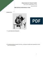 Evaluación Inicial 3 ESO