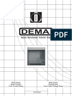 Dema-mcr & Mvr Protection Relay