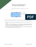 Advanced fluid mechanics part