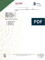 Examen de sistemas de Numeración