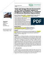 Field and image based assessment of the tools lifespan impact on roughness parameters in a context of advanced machine depreciation