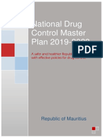 Mauritius National Drug Control Master Plan 2019