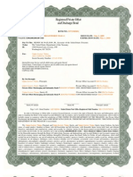 Green Border Offset and Indemnity Bond 8-15-08