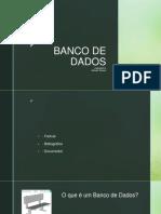Arquivo _ Banco de dados