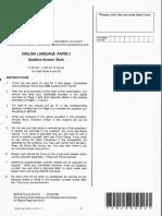 DSE2018 Paper 2