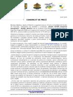 2015-07-24 Comunicat Presa Danube WATER Integrated Management