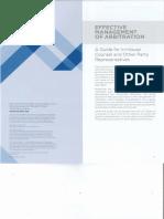Effective Management of Arbitration