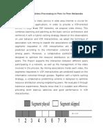Large Scale Video Processing in Peer to Peer Networks