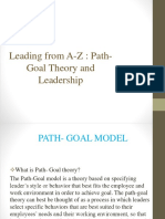 Path- Goal Theory and Leadership.ppt