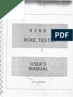 Aesa Rcke Tester 9300 Ingles