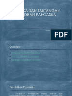 4.Dinamika Dan Tantangan Pendidikan Pancasila