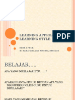 Learning Approach & Learning Style(14!09!2018)