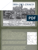 La Guerra Del Chaco 2.0