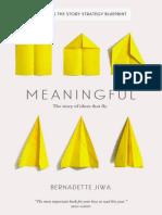 Bernadette Jiwa - Meaningful_ The Story of Ideas That Fly (2015, Perceptive Press).epub