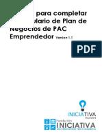 Manual para completar el plan pac