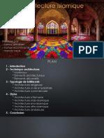 Architecture Islamique (Finale)