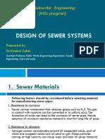 2 Design of Sewers v2 0