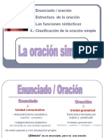Oración Simple PDF