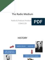 Chapter 1 the Radio Medium New