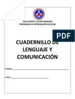 Cuadernillo Comprension Lectora 2019