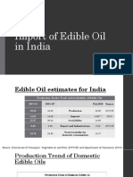 Import of Edible Oil in India.pptx