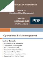 ACBM-Lec 10 (Operational Risk Mgt)