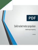 Solid Rocket Motor Propulsion