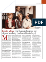 Julia Thornton's guide to choosing accommodation (The Herald, 14 September 2019)