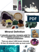 power point in earth and life science MINERAL