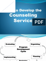 Report - Guidance and Counseling