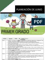 Planeacion Junio 1er Grado 2018 2019