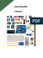Arduino Learning Kit Manual