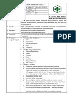 7.1.3.7 SOP Rapat Antar Unit Kerja (Koordinasi& Komunikasi Antara Pendaftaran Dgn Unit Terkait