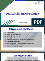 Producción- Etapas y Costos