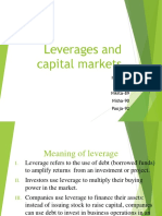 Leverages and Capital Markets Updated