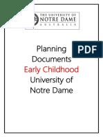 ece planning documents