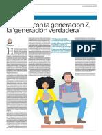 El Futuro Con La Generación Z, La Generación Verdadera