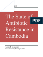 The State of Antibiotic Resistance in Cambodia
