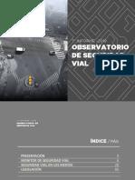 Relevamiento del Observatorio Vial de Cecaitra