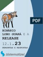 Ebook binário Lobo guará - Perguntas e respostas