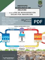 Sistema de Refrigeración Solar Por Absorción