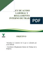 Presentación 2017 Ley de Acoso Laboral y Reglamento Interno de Trabajo