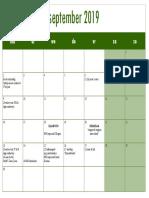 jaarkalender triangel 2019-2020
