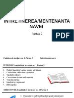 C1 Intretinerea Navei Partea2 V2017.02.27