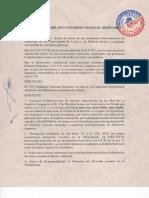 Resolucion C.S.T.C.B Bolivia