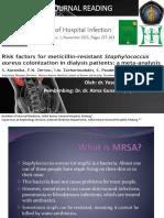 Risk Factor MRSA in Dialysis Patient