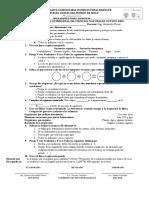 Examen Quimestral de Cc Nn