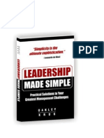 Leadership Made Simple