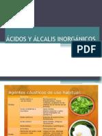 Ácidos y Álcalis Inorgánicos