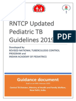 Updated Pediatric TB Guidelines 2019 - Guidance Document